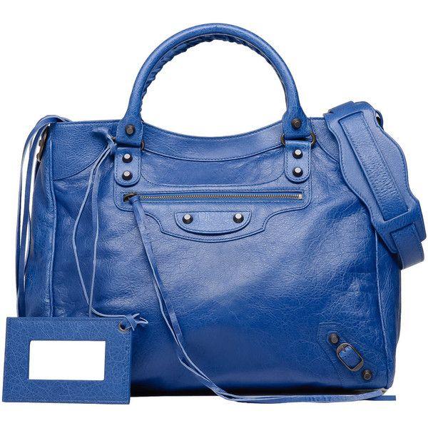 Balenciaga Classic Velo Bleu Cobalt