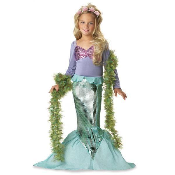 Как выглядит новогодний костюм русалочки