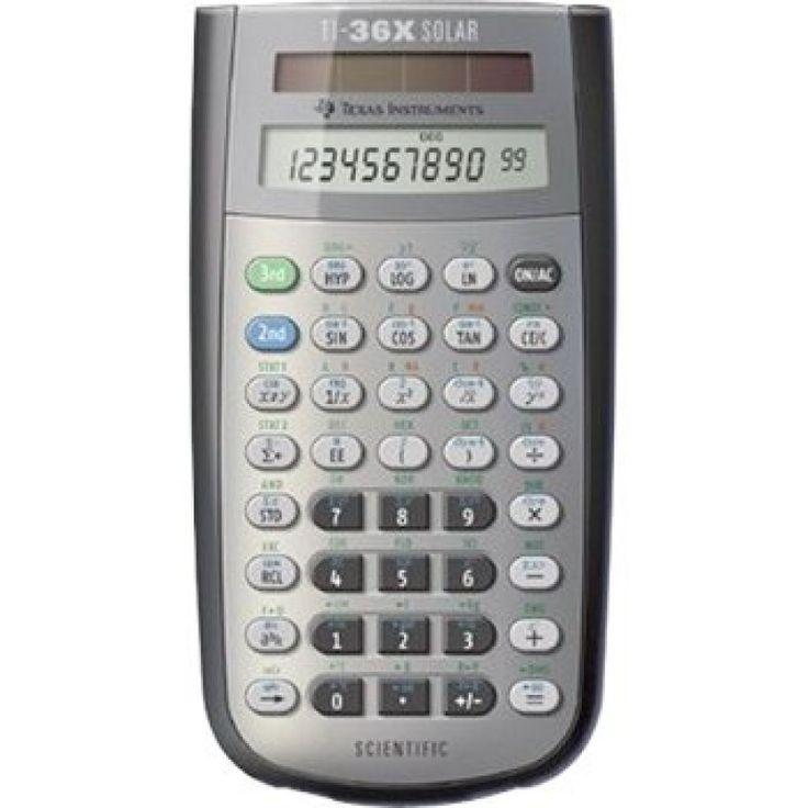 TI 36XSolar - Calculadoras Científicas TI 36 X Solar Texas Instruments