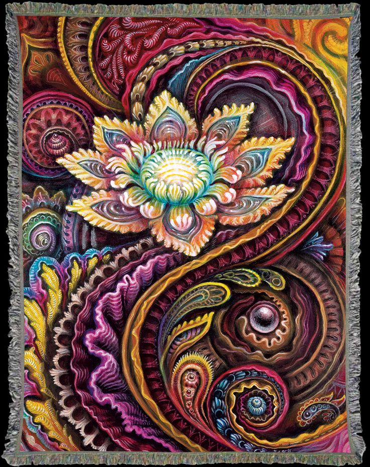 Flower Power ~ Randal Roberts & Morgan Mandala