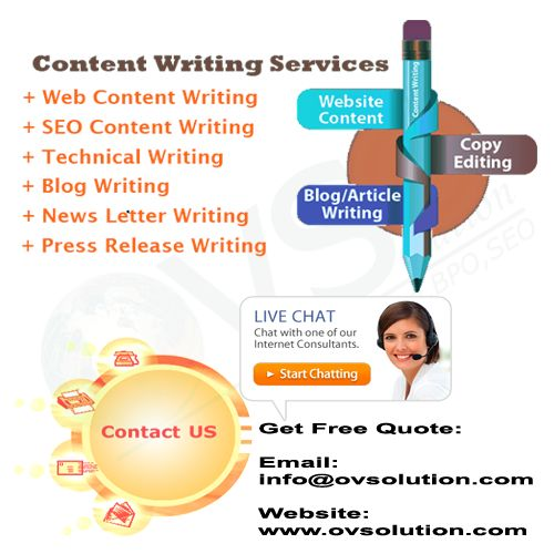 Content Writing Services.