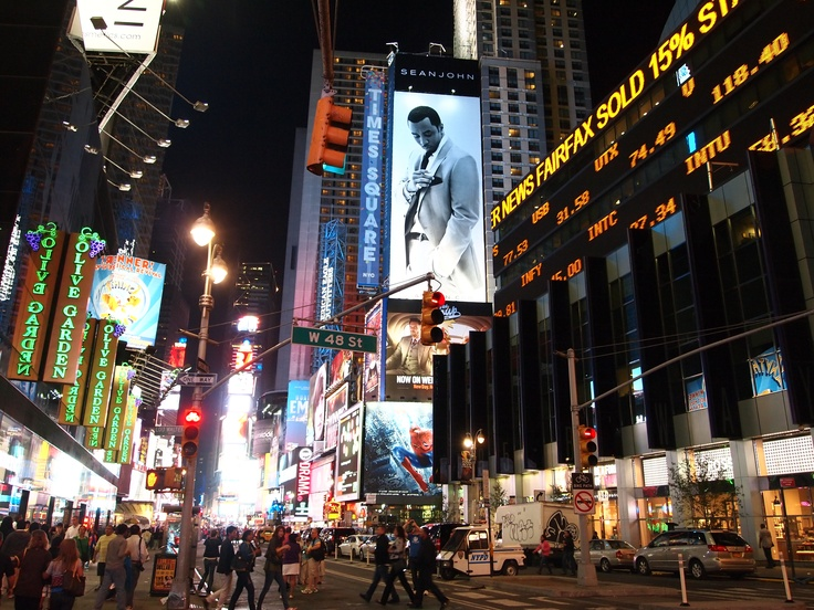 The night of Times Square