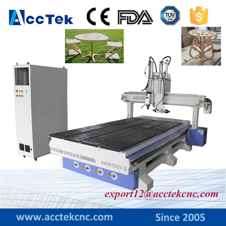 AKM1325-2 mulit head multifunction woodworking machine cnc milling machine woodworking cnc machine for sale