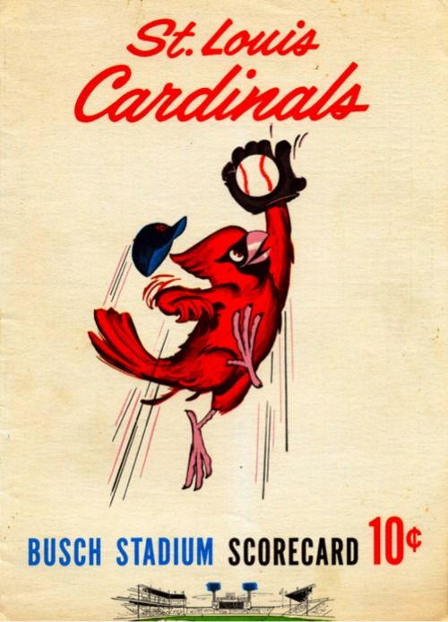 cartoons about the cardinals baseball | ... Random Photos, eh?: St. Louis Cardinals Busch Stadium Scorecard 10