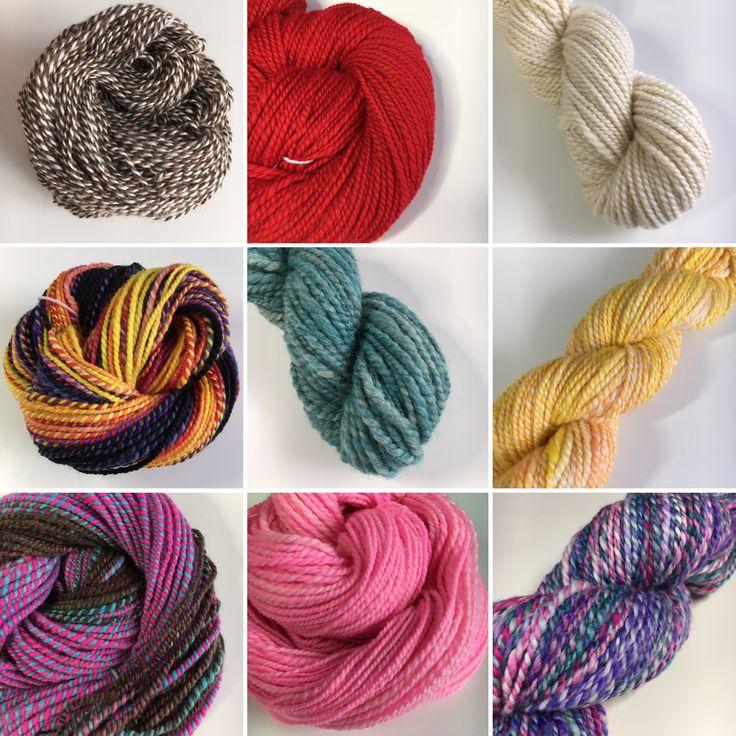 Handspun yarns available in my Etsy shop www.artyfibres.etsy.com