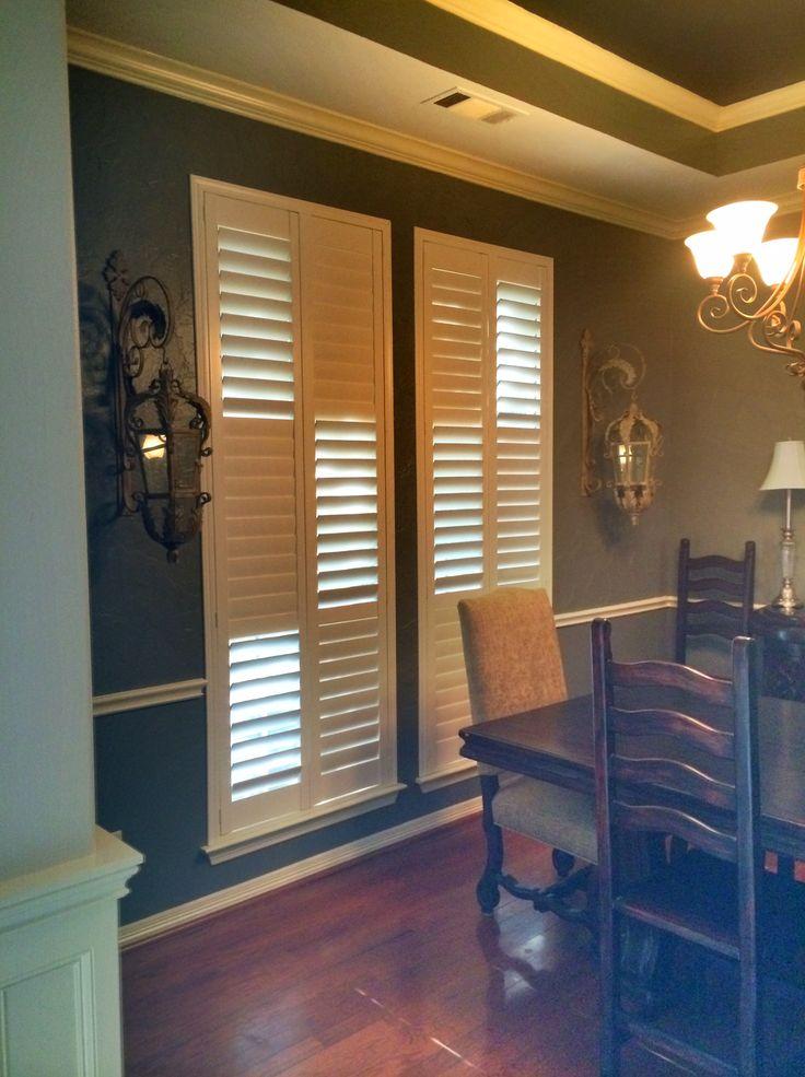 182 best plantation shutter options images on pinterest for Alternative to plantation shutters