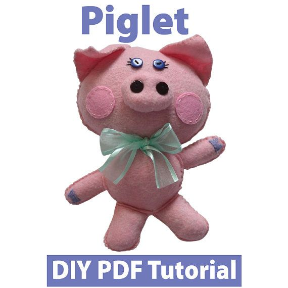 Piglet PDF Tutorial INSTANT DOWNLOAD by vitbich on Etsy, $4.00