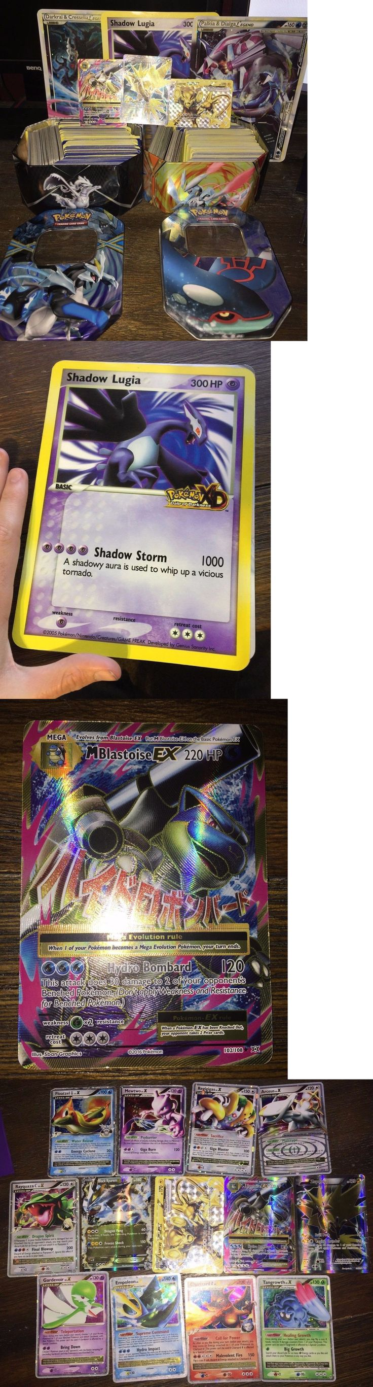 Pok mon Mixed Card Lots 104049: New 800 Pokemon Cards. New Giant Shadow Lugia Pokemon Card. 20+ Ex Cards. -> BUY IT NOW ONLY: $50 on eBay!
