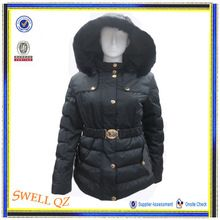 2015 Hot selling high quality woman winter padding coat with rabbit fur hood  Best Seller follow this link http://shopingayo.space