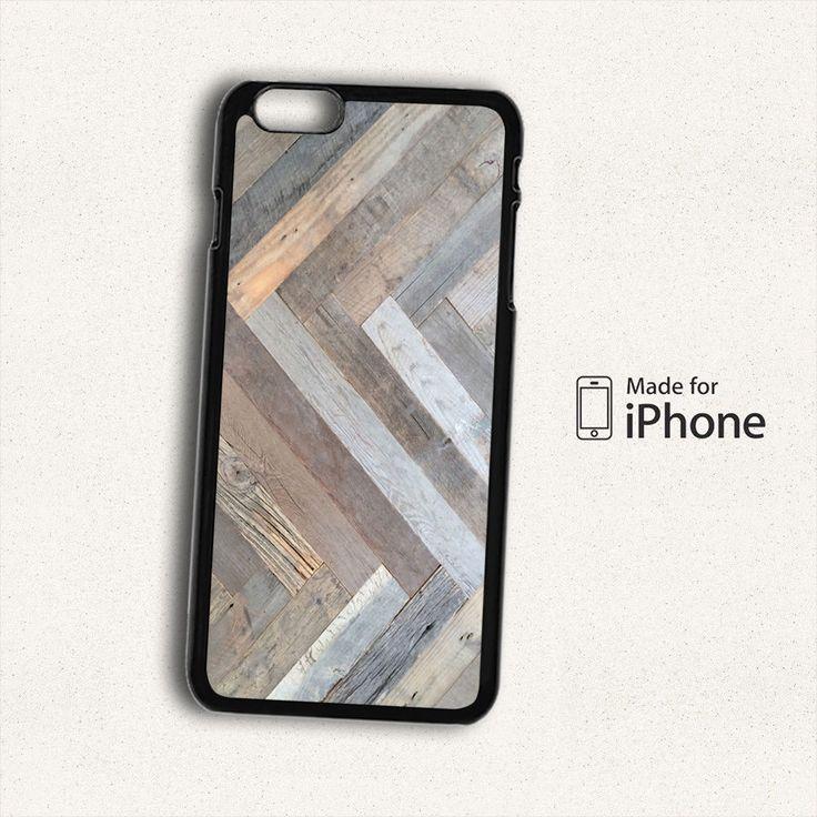 Vintage Wood Print Hard Case For iPhone 6 Plus #Sm