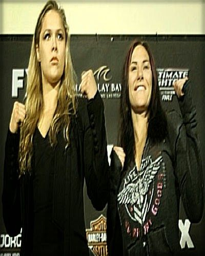 Preview of the share image Ronda Rousey, Cat Zingano UFC 184 Random Drug Test Results Are In ~
