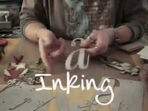 designer online shopping Tim Holtz   What is Ideaology Grungeboard   Getting a little refresher on how to use my grungeboard