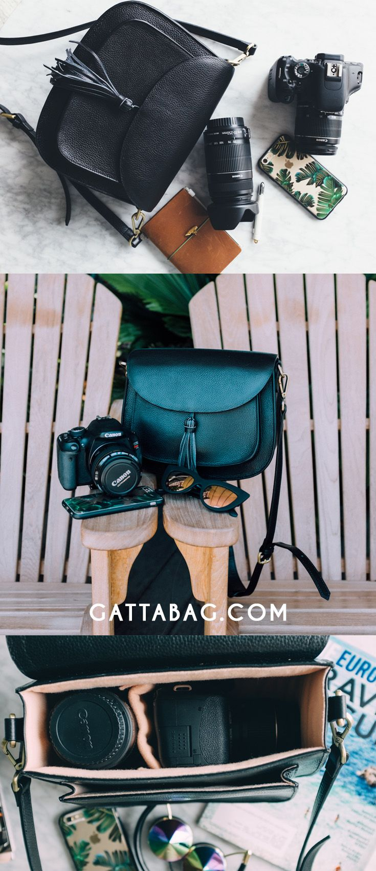 GATTA - Chic Camera bags - gattabag.com