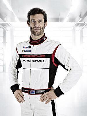 Mark Webber's New Uniform for 2014 #WEC #Porsche