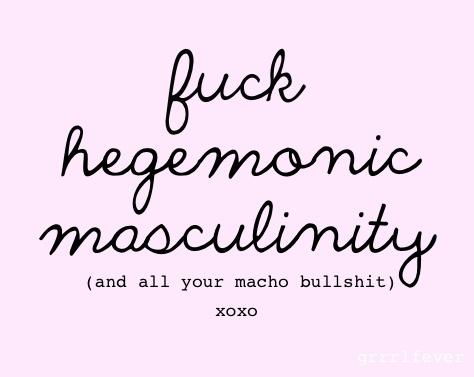 fuch hegemonic masculinity