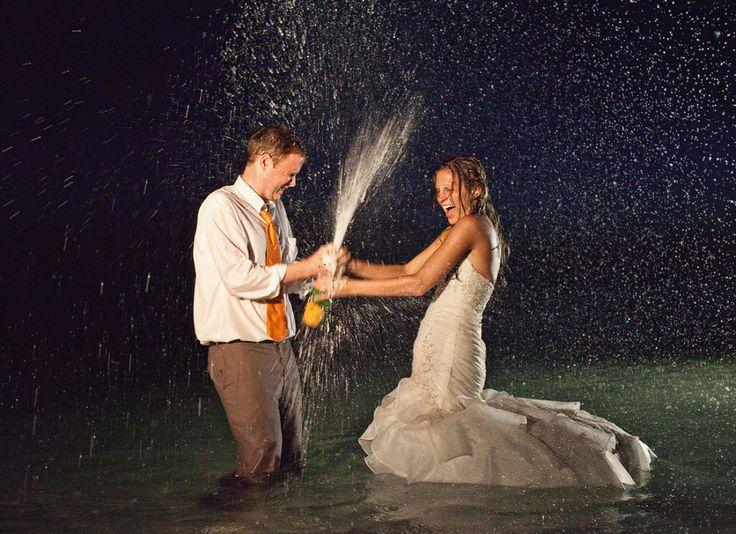 12 Gorgeous Trash-the-Dress Photos | Destination Weddings & Honeymoons
