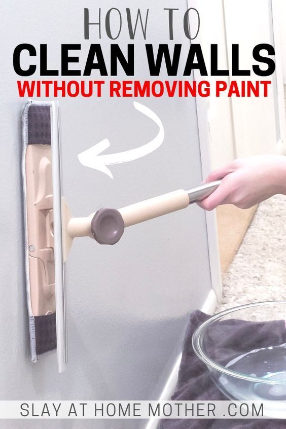 Learn How To Clean Walls Without Removing Or Discoloring Paint With An Easy Diy Vinegar Cleaning Solution Y In 2020 Cleaning Walls Cleaning Painted Walls Paint Remover