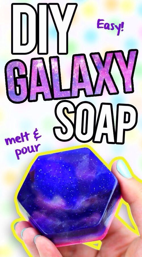 "My latest find on Trusper may blow you away: ""Diy Galaxy Soap"""