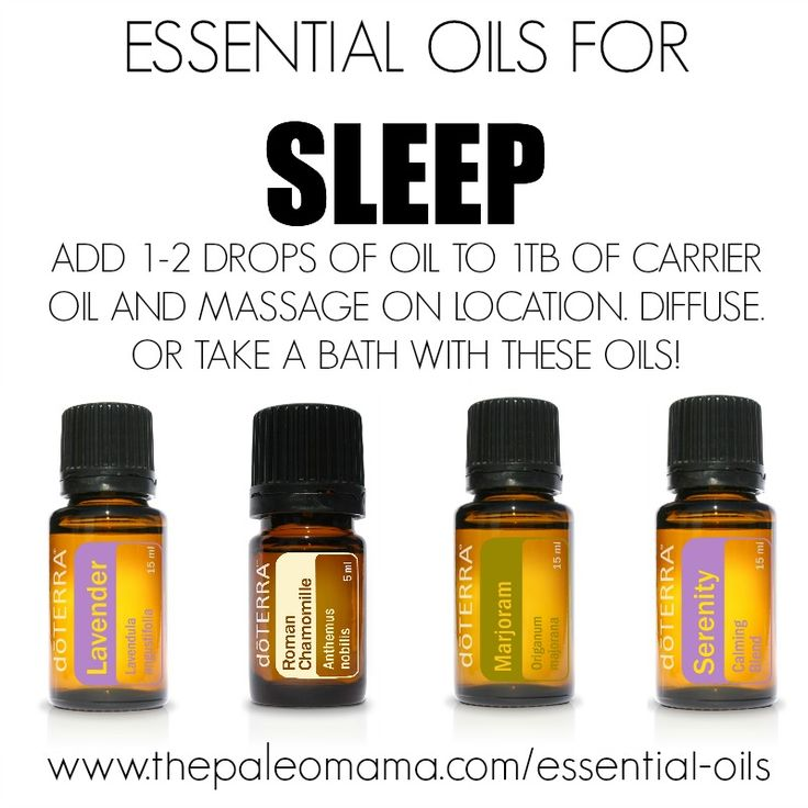Essential Oils to Help with Sleep | get started using essential oils at www.thepaleomama.com/essential-oils
