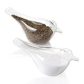 Robin Salt & Pepper Shakers