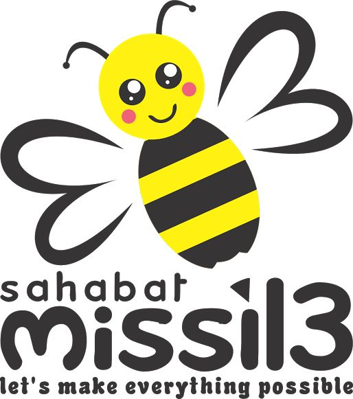 Logo Design For Sahabat Missil3 - Jasa desain grafis online Hakameru.com