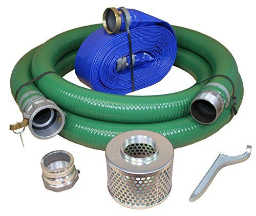 The #Eagle Water Pump Suction & Discharge Hose Kits are designed to work with water/trash pumps. Eagle Pump Hose Kits offer everything necessary to use your pum...