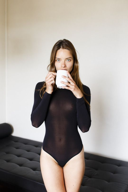 sultry ladies with coffee