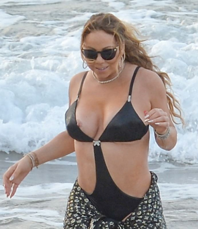 Mariah Carey  Celebtity  Pinterest  Swimsuits-3424