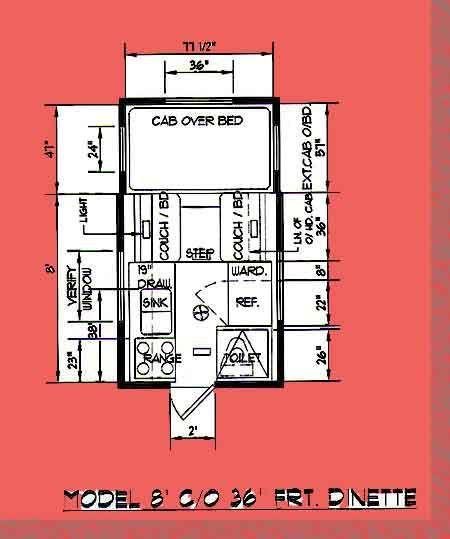 Nett Cabover Truck Camper Schaltplan Galerie - Der Schaltplan ...