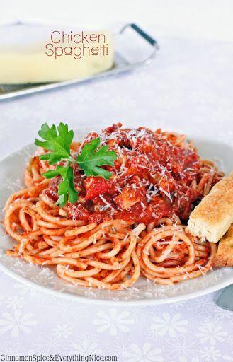 Chicken Spaghetti Recipe on Yummly