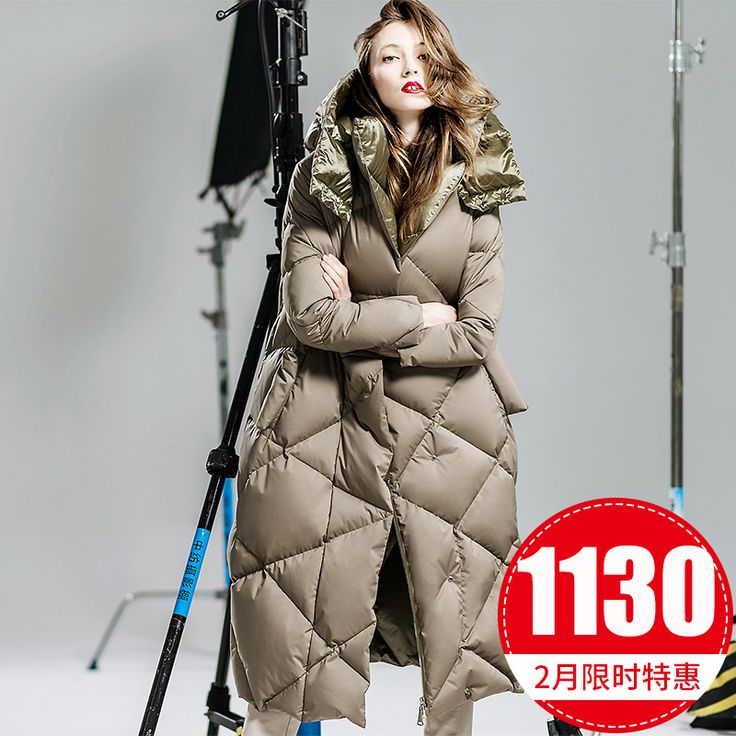 Warm! Brot Samt kleidet Korea erwartet langen dicken Kapuze beiläufige Art und Weise beschichten unten Frauen lange über das Knie des demi Jacken Kategorie Frauen und Mäntel: Preis, Fotos, Bewertungen, Versand - kaufen Online-Shop Kupinatao