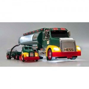 Hess celebrate 50 years of Hess trucks with the first-ever collector's edition 2014 50th Anniversary Hess Toy Truck.