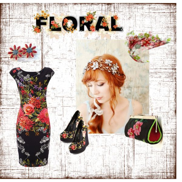 """Floral Saturday Style"" by staroftheeast on Polyvore"