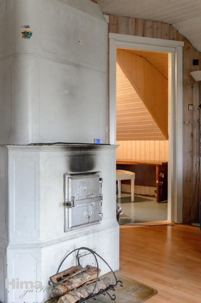 Old fireplace. Kapteeninkatu 25 #himajahuvila