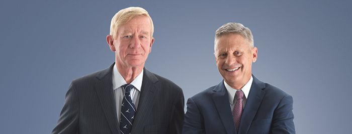Governor Gary Johnson and Governor Bill Weld are the only two candidates for President that can change the partisan and divisive presidential debate.