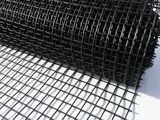 1mx10m (20mm hole) Plastic Garden Fencing Mesh. Black fence netting