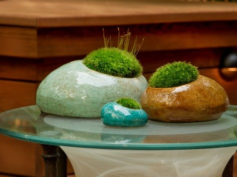 MossRocks!: Decorative Moss Boulder 6.5 inch
