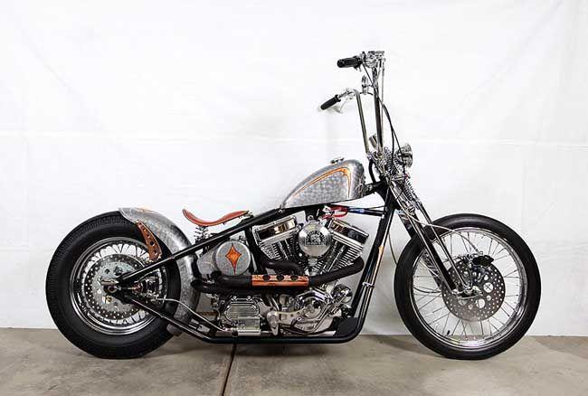 Ape Hanger Classic Bobber Motorcycle