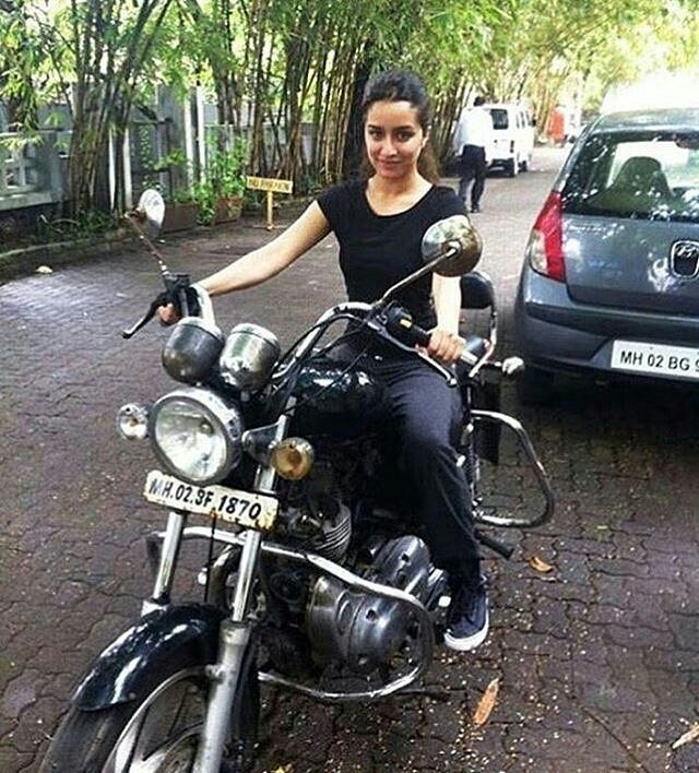 Shraddha is a complete tomboy!  @Bollywood.mobi ❤❤❤