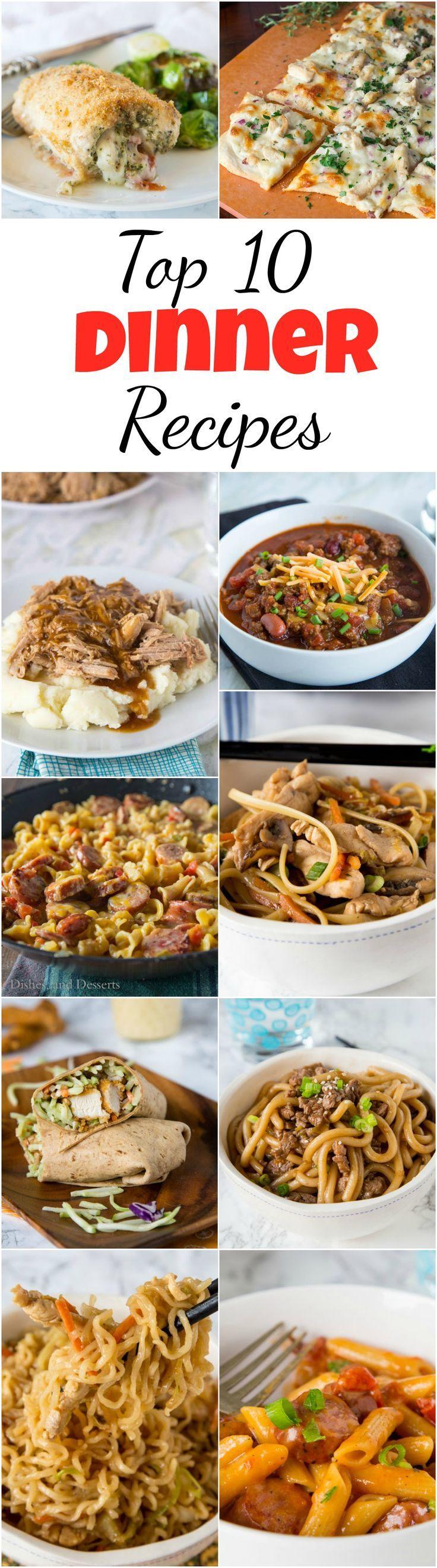 Top 10 Dinner Recipes