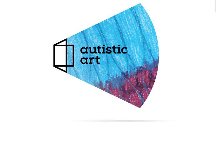 autistic art - brand identity on Behance