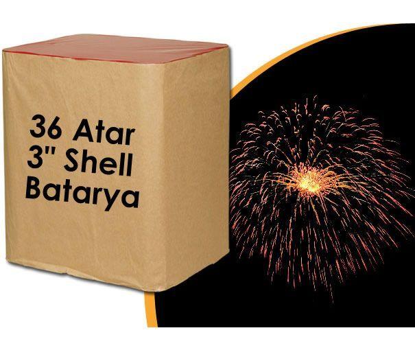 36 Atar 3 �n� Shell Havai Fi�ek Bataryas�