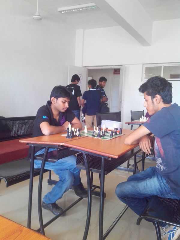 Kartik Gunda participated in chess and grabbed the Second runners up position..