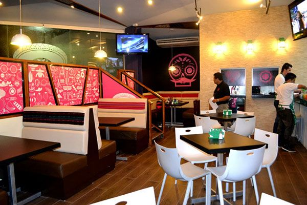 Creación de Marca para restaurante Comida Mexicana en El Salvador, Centro América.Año 2012
