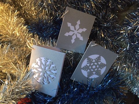 Snow Flake Christmas Gift Card Pack – Swank Creations