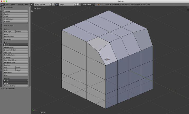Essential Modeling Skills – Basic Operators – Part 1 – Blender Unleashed