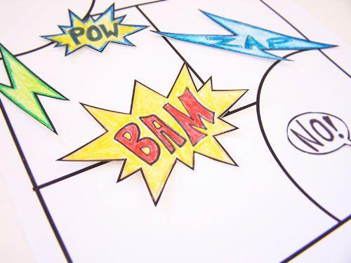 The 25+ best DIY comic books ideas on Pinterest Comic book style - comic book template