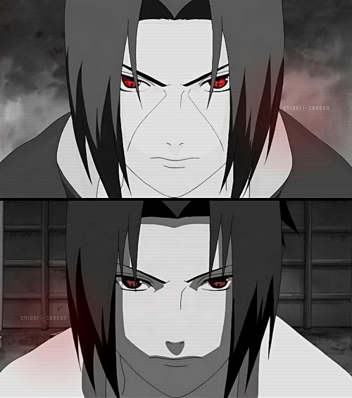 Itachi and Sasuke ❤ brothers