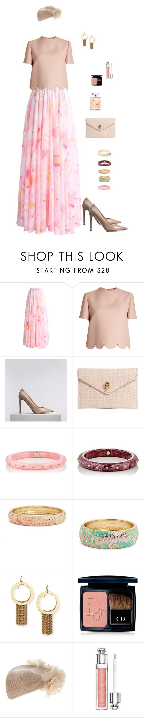 """Perfect Tatiana."" by srtagraham ❤ liked on Polyvore featuring Chicwish, Valentino, Alexander McQueen, Mark Davis, Sequin, Stephanie Kantis, Christian Dior, Rosie Olivia, men's fashion and menswear"