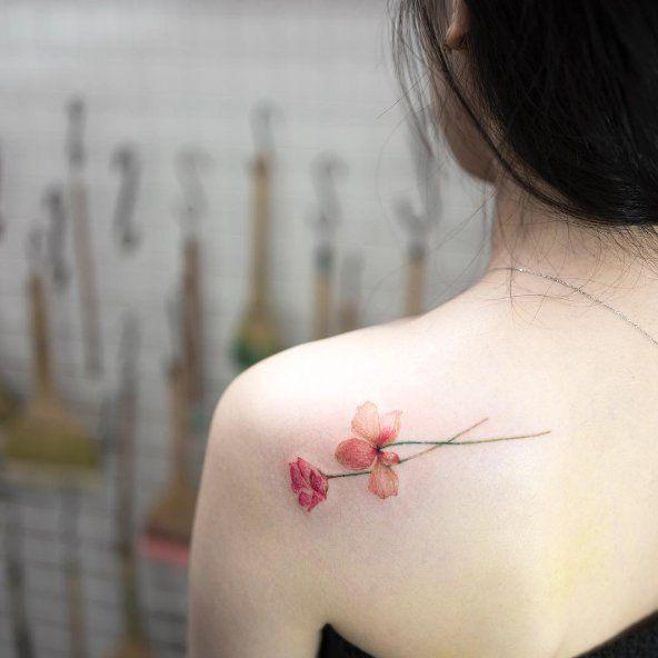 Este artista coreano faz as tatuagens mais delicadas (e lindas)